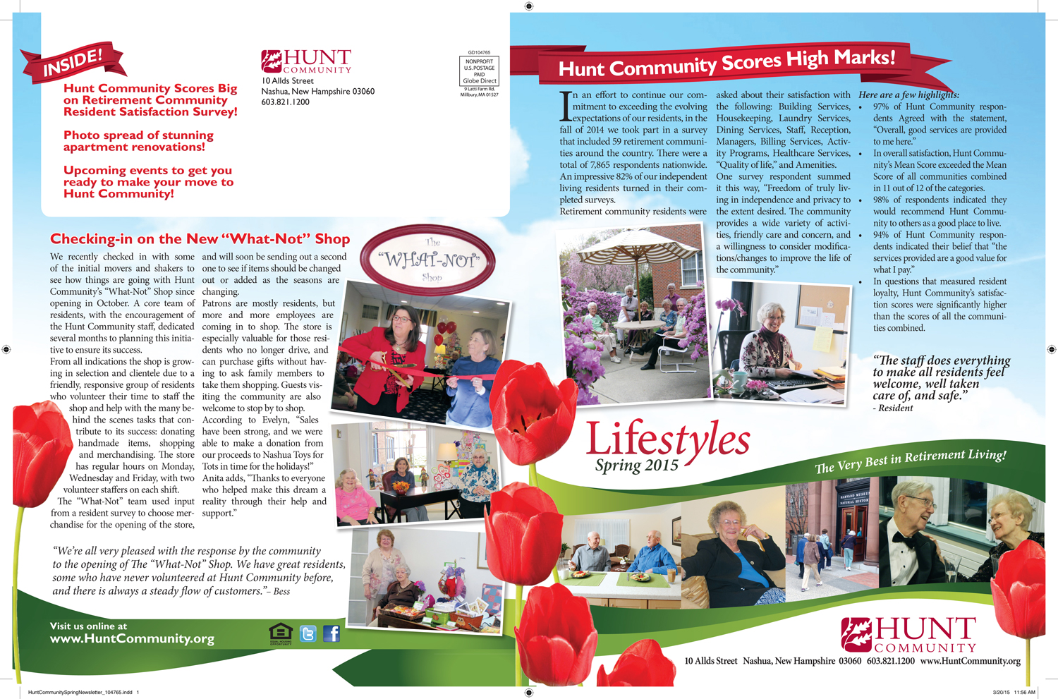 Hunt Community Spring Newsletter