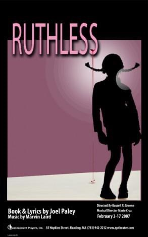 Ruthless- Theater Poster