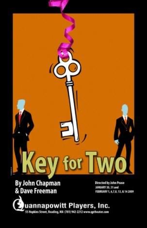 Key for Two- Theater Poster