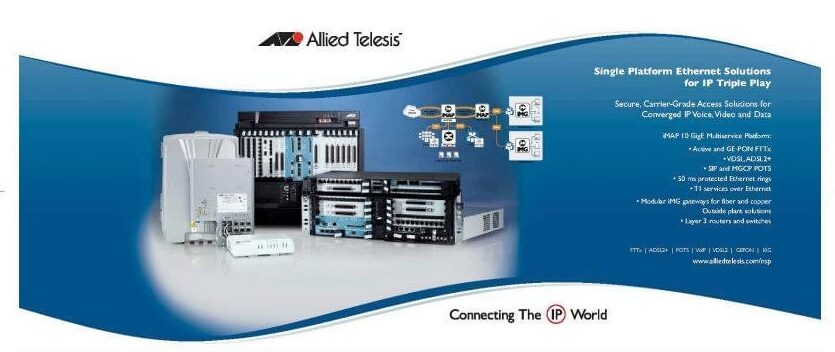 Allied Telesis Trade Show Banner